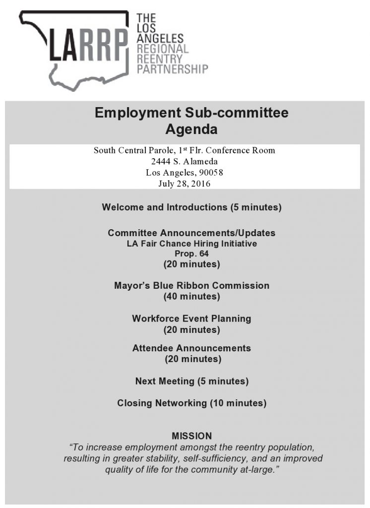 LARRP Employment Sub-committee Agenda July 28, 2016-page0001